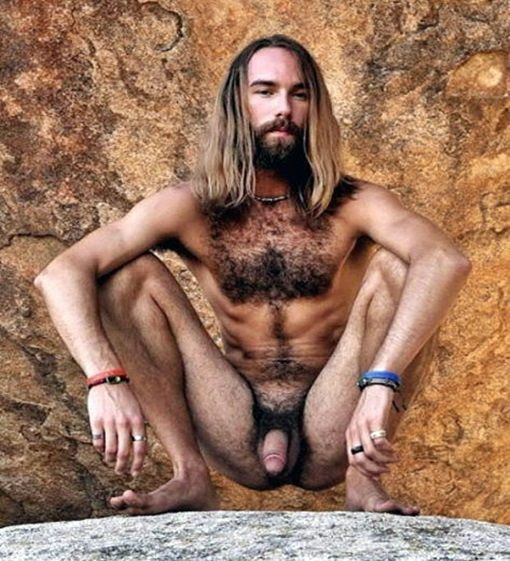 hairy naked young men hippie