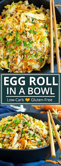 Egg Roll in a Bowl | Keto + Paleo - ALL THING FOODS #eggrollinabowl