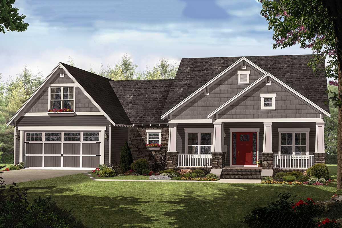 Plan 51116mm 4 Bedroom Craftsman With Smart Looks Craftsman Style House Plans Craftsman House Plans House Plan Gallery