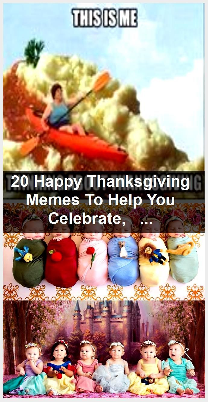 20 Happy Thanksgiving Memes To Help You Celebrate,
