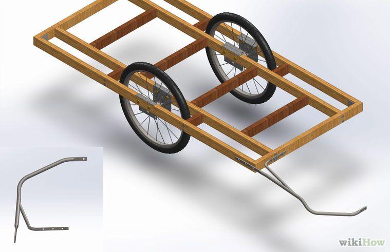 Cómo Hacer Un Remolque Para Bicicletas Remolque Para Bicicleta Trailer Para Bicicleta Carrito Para Bicicleta