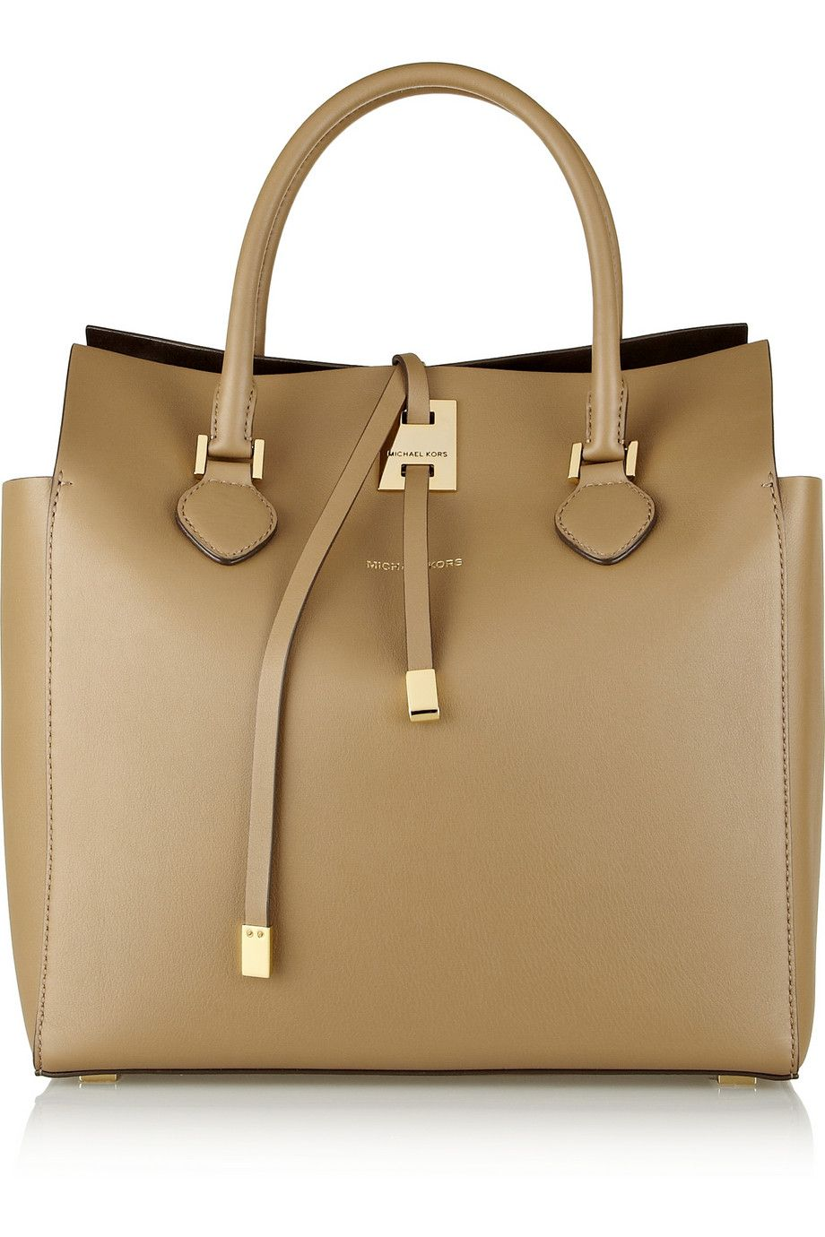 2dcbca455fbd Michael Kors | Miranda large leather tote...Love the color! | my ...