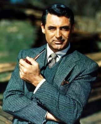 Cary Grant Pin Stripes