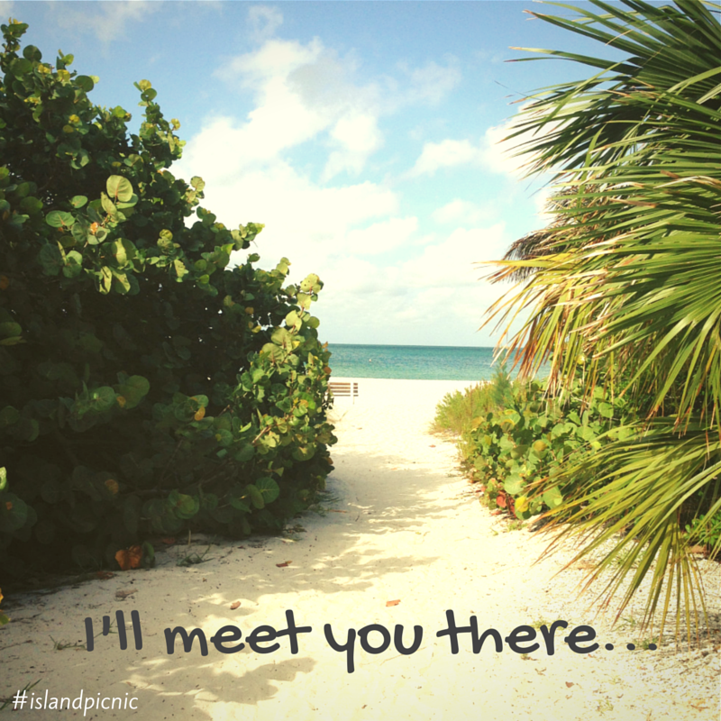 I'll meet you there...