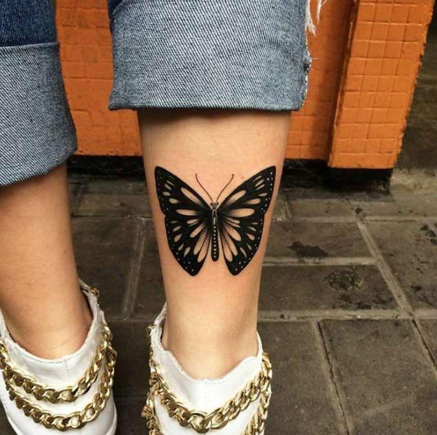 35 breathtaking butterfly tattoo designs for women tattoo pinterest tatouage. Black Bedroom Furniture Sets. Home Design Ideas