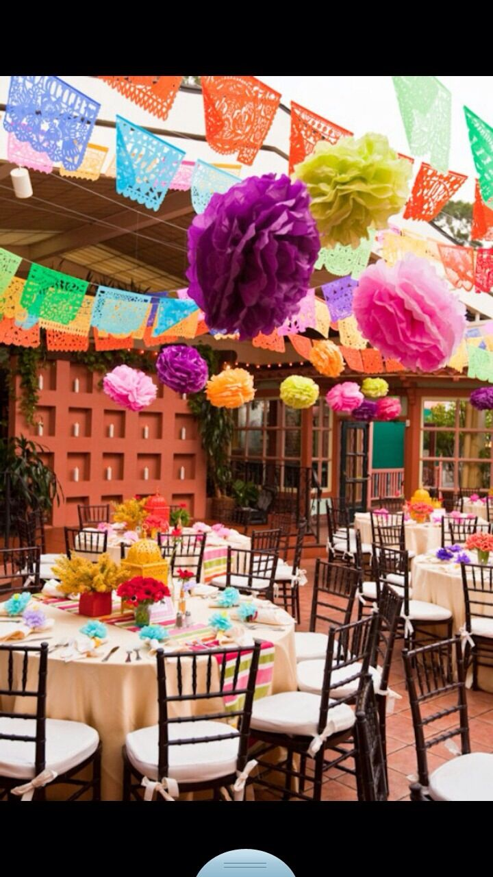 14 Ways To Throw The Ultimate Fiesta Mexican WeddingsMexican Wedding ThemesVintage