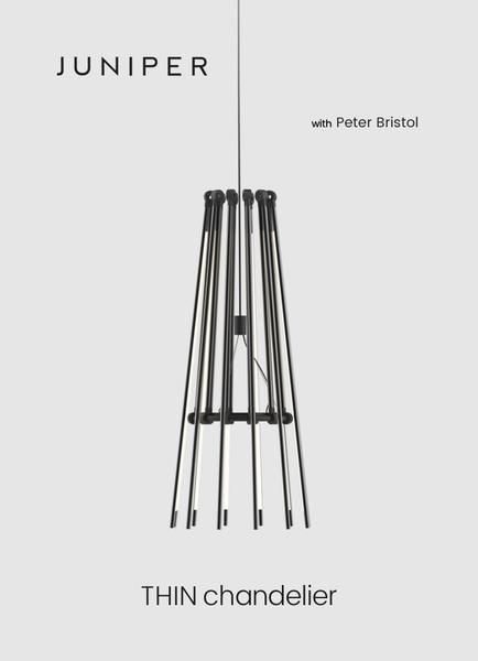 Thin led chandelier by juniper design made in the usa chandeliers thin led chandelier by juniper design made in the usa aloadofball Choice Image