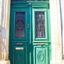 Beautiful green portal