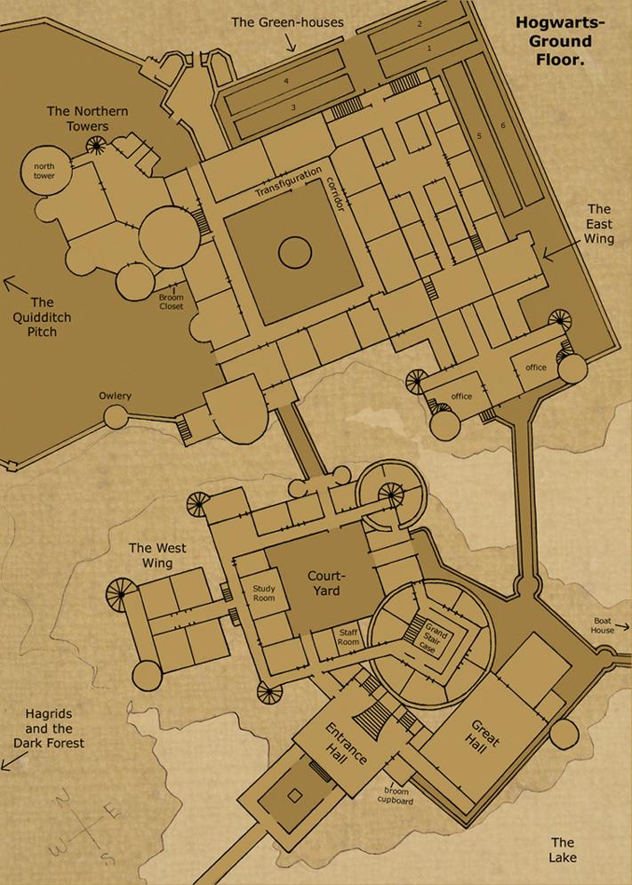 Hogwarts Ground Floor by Hogwarts Castle on DeviantArt