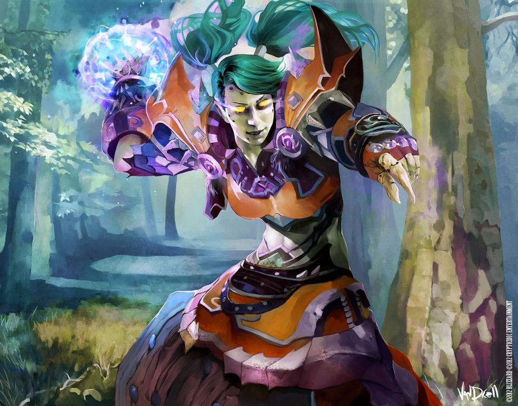 WoW CARD - UNDEAD MAGE by ~Vandrell on deviantART ...