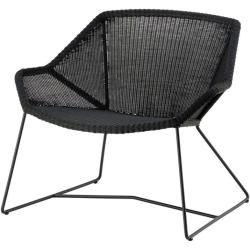 Photo of Lounge Sessel Breeze Cane-line schwarz, Designer Christina Strand, Niels Hvass, 73x87x72 cm Cane-Lin