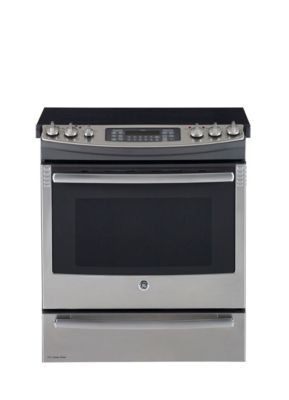 GE 30'' Slide-In Electric Self Clean Convection Range - Sears | Sears Canada - our new stove