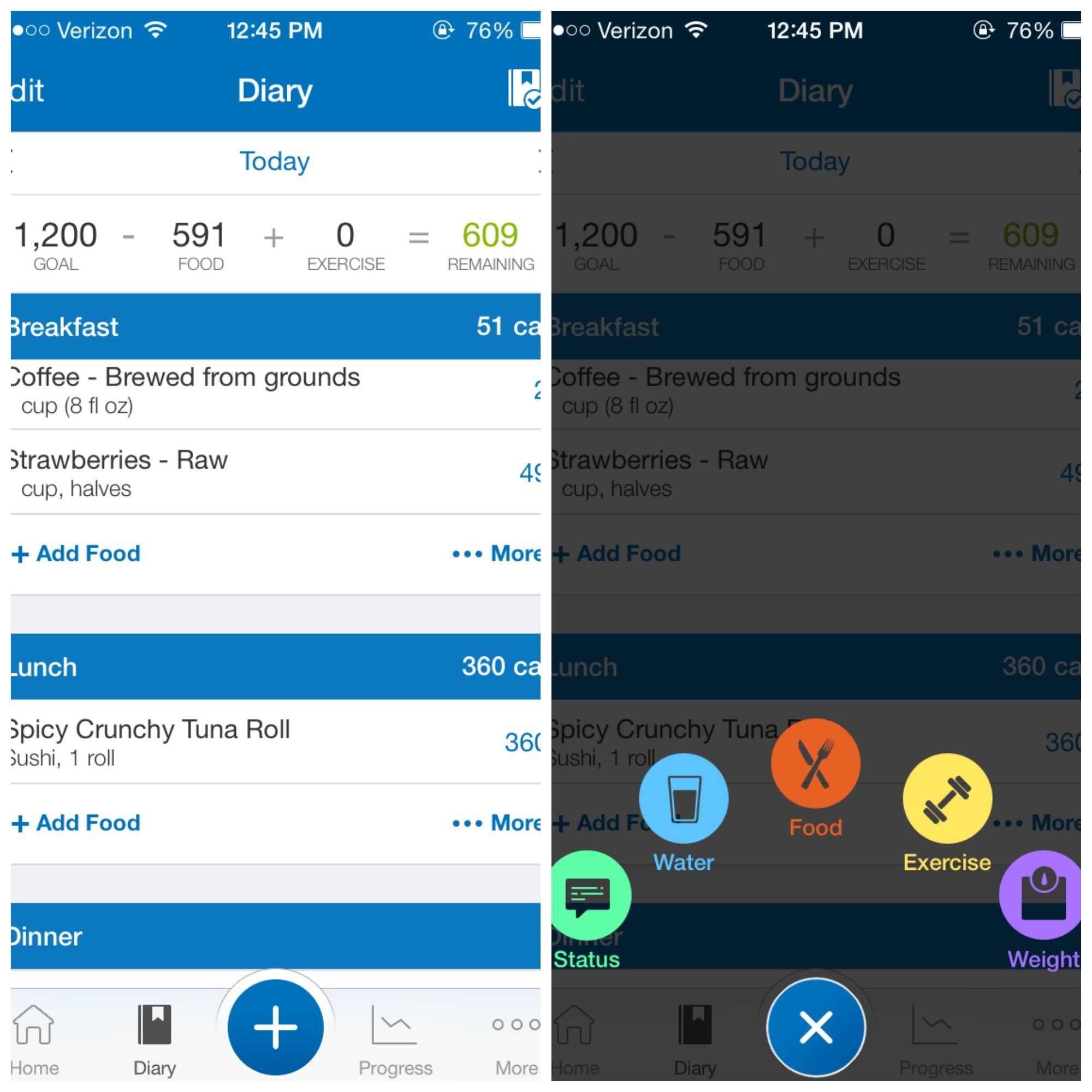 MyFitnessPal App FREE With over 3 million foods in it's