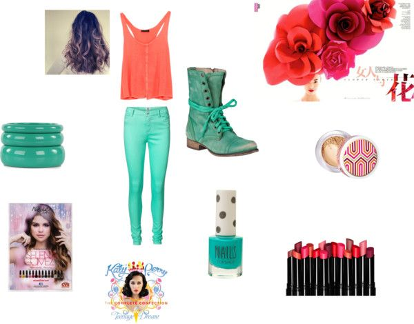 """""""summer day outfit"""" by shamijah on Polyvore"""