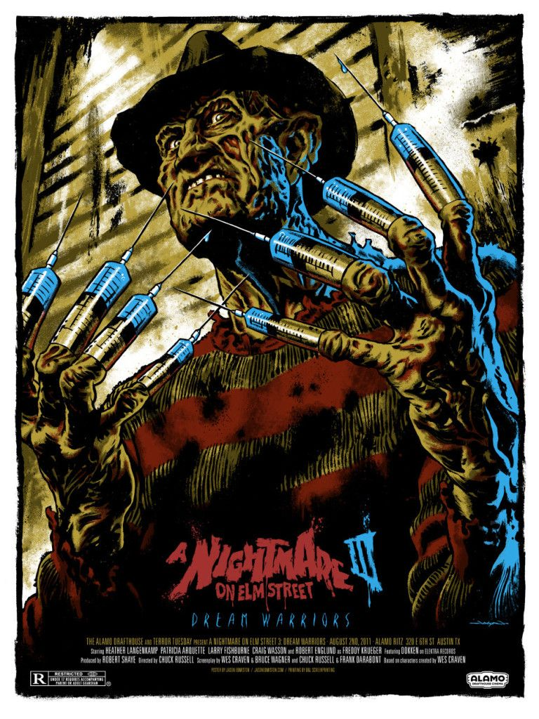 A Nightmare On Elm Street Iii Dream Warriors Poster By Jason