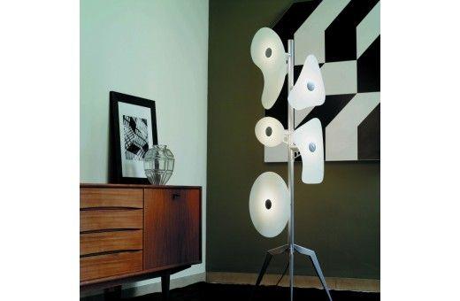 Casa Di Patsi - Έπιπλα και Ιδέες Διακόσμησης - Home Design Orbital Floor - Δαπέδου - Διακοσμητικός φωτισμός - Φωτισμός - ΕΠΙΠΛΑ
