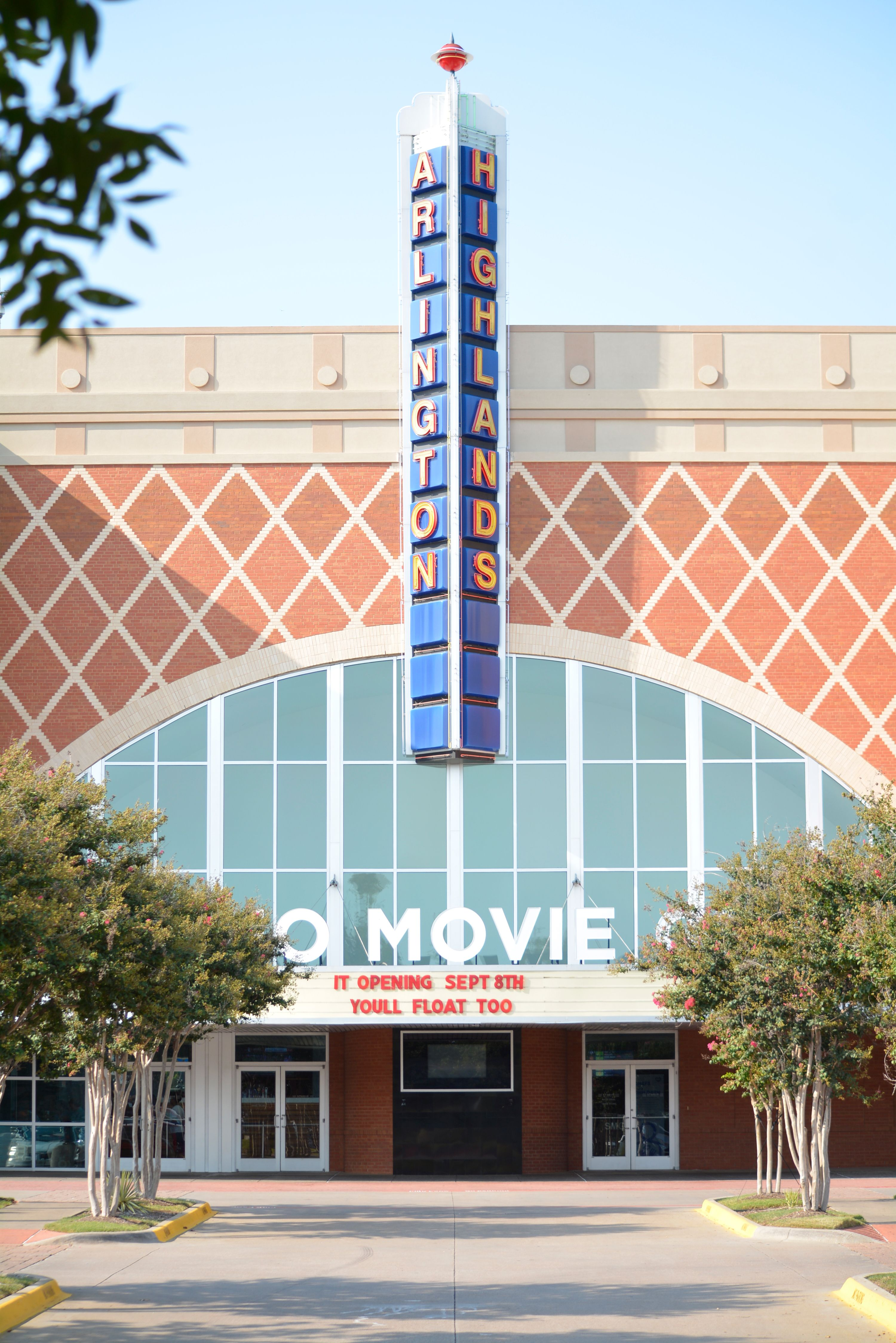 Catch a flick at the movie theatre at arlington highlands