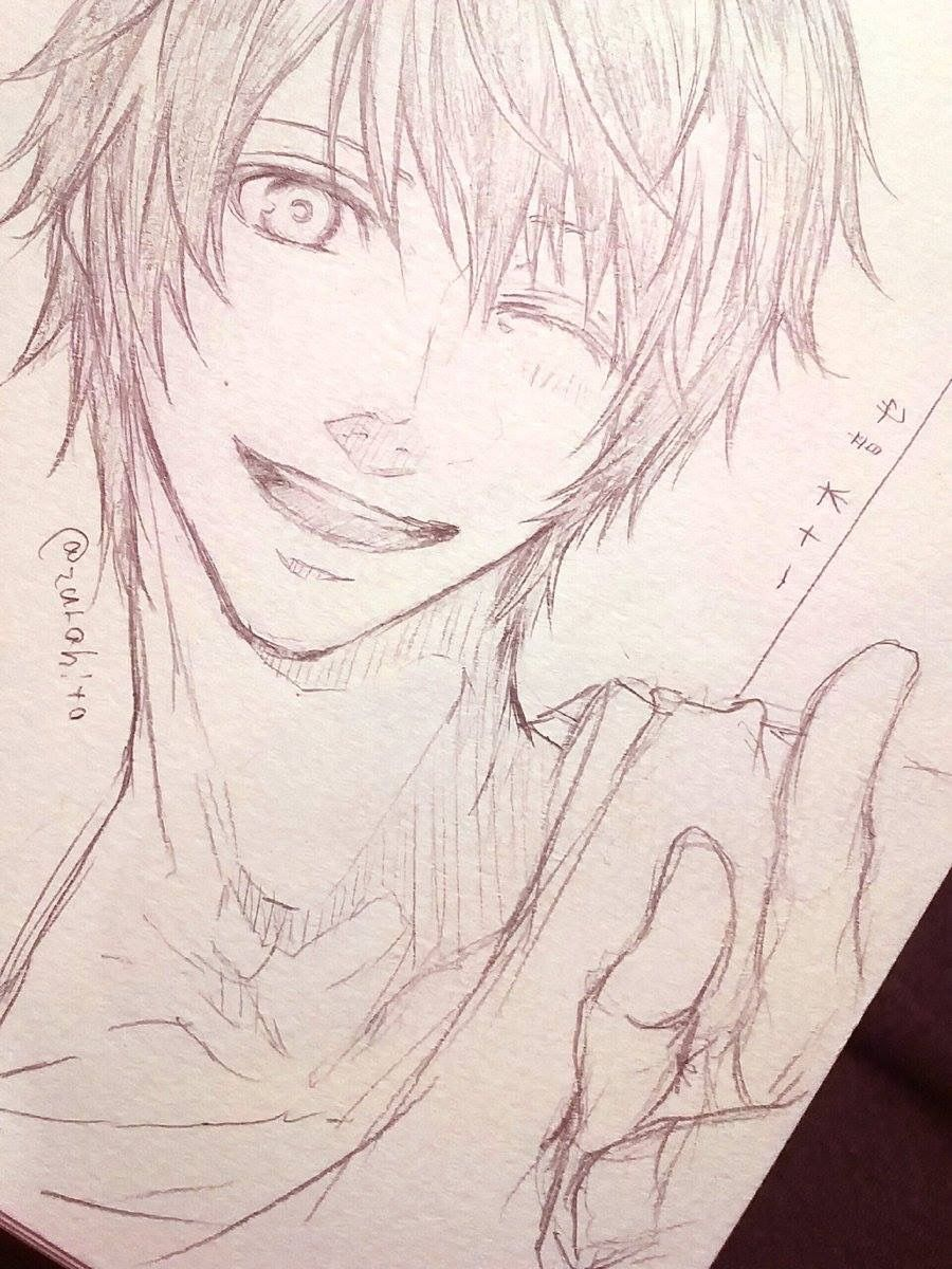 Otoya from uta no prince sama anime sketch pen sketch sketches otoya ittoki