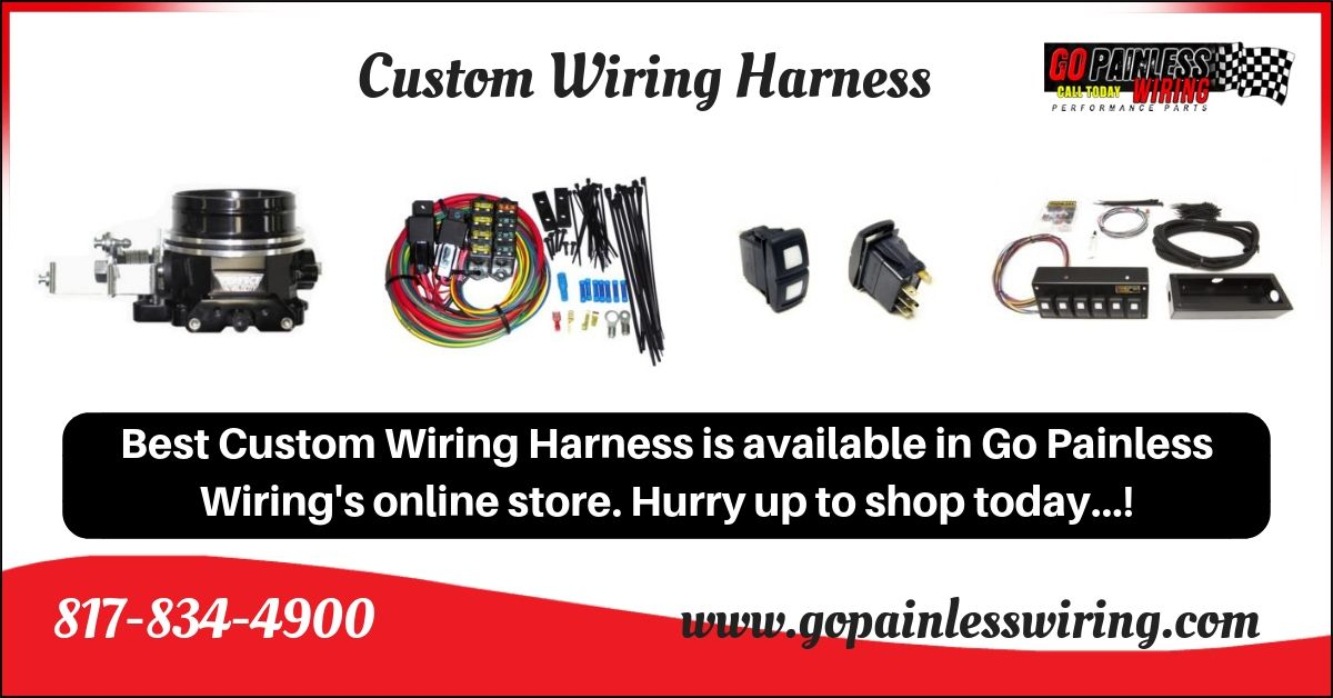 custom wiring harness is made hand built and hand checked by our Custom Built Oil Pan custom wiring harness is made hand built and hand checked by our quality control department to meet your needs whether you have a harness or wiring system