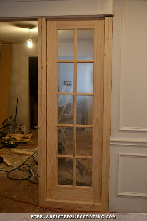 Stationary Built In French Door Panels (French Doors Used As Interior  Sidelights) U2013 Basic Build