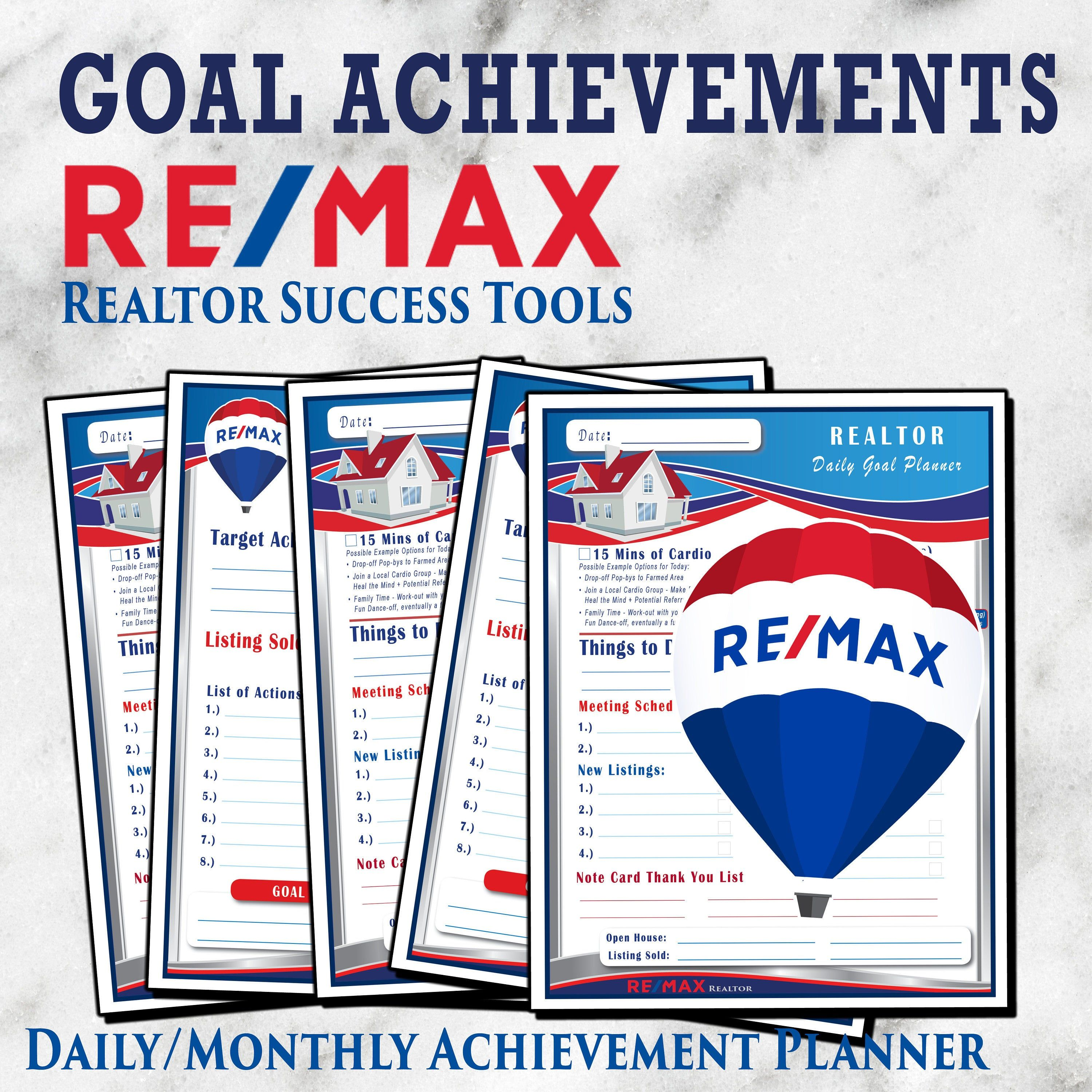 Pin By Angel Sells Texas On Real Estate Remax Goal Setting Worksheet Achieving Goals