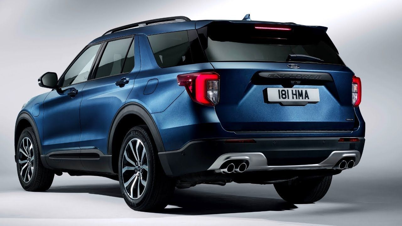 New 2020 Ford Explorer Hybrid Europe Spec Great Suv Exterior