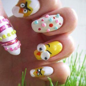 25 Nail Art Easter Nails And Easter Nail Art
