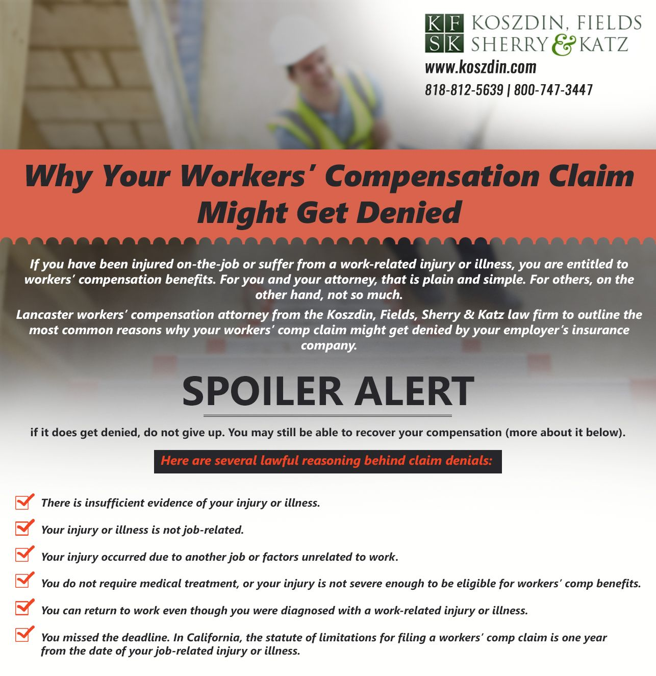 Workers Compensation Attorney Lancaster Content Insurance