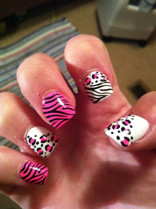 Animal Print Nails   φοβαιρα νυχια   Pinterest   Nail nail, Makeup ...