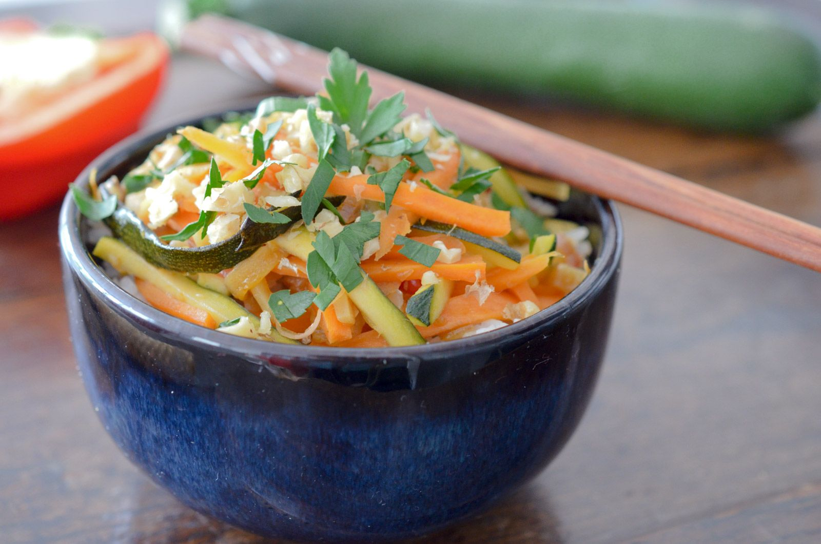 Wok de légumes à la Thaï | Recette | Wok de legumes, Recettes wok, Idée repas végétarien