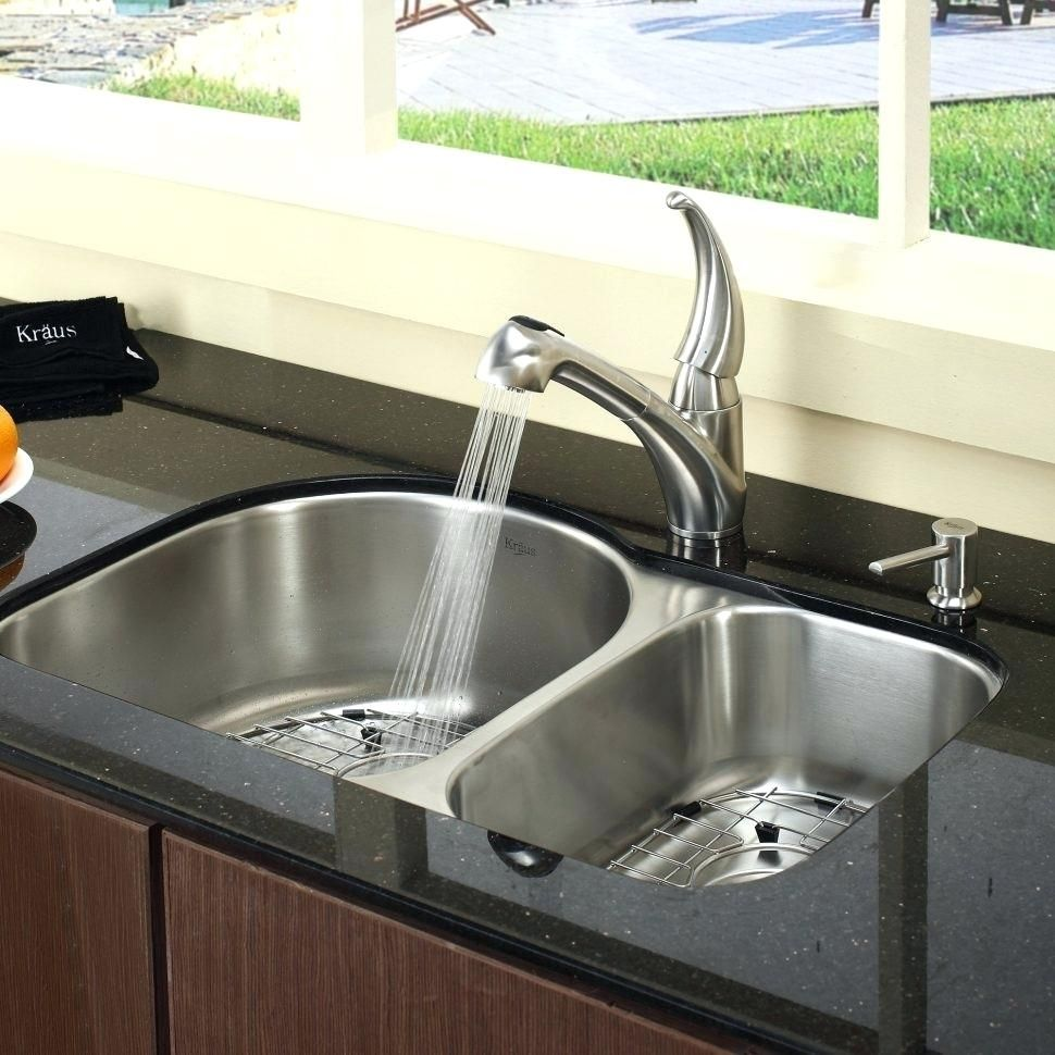 Kitchen sink soap dispenser not pumping kitchen faucet with soap
