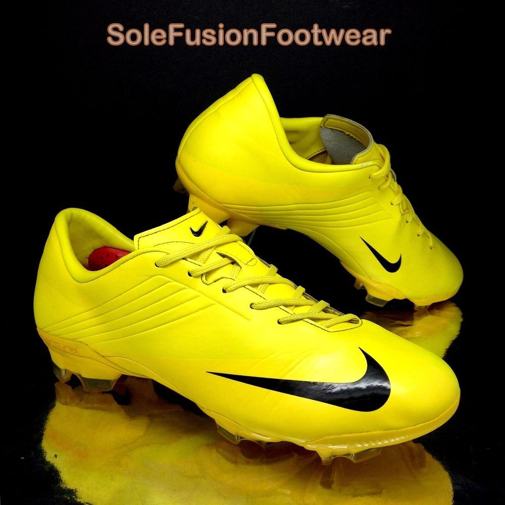 55b0a7328 Nike Men's Mercurial V Football Boots Yellow size 7.5 Vapor Talaria Cleats  EU 42 | eBay