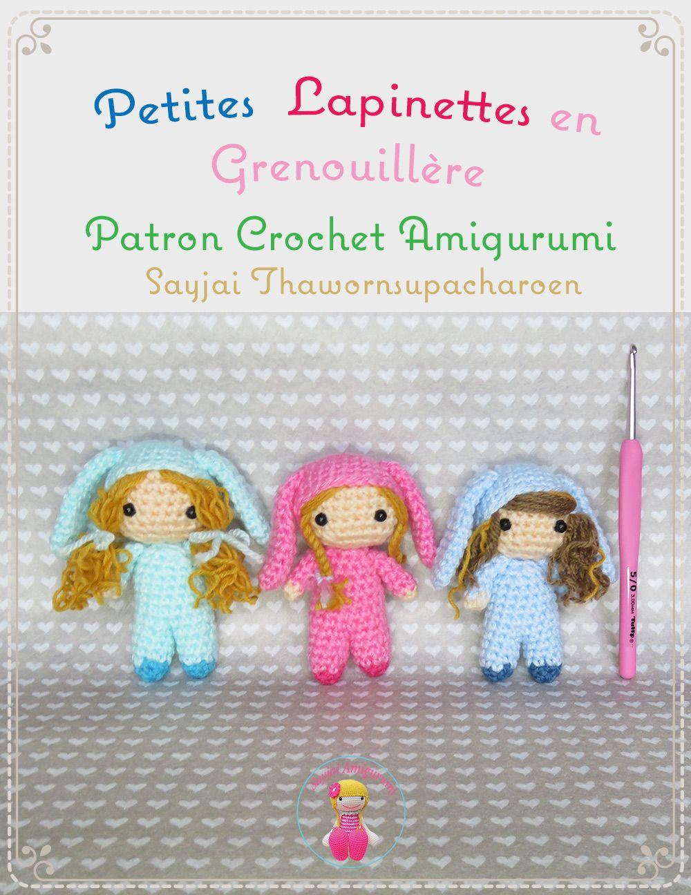 J\'ai un nouveau patron de crochet gratuit: Petites Lapinettes en ...