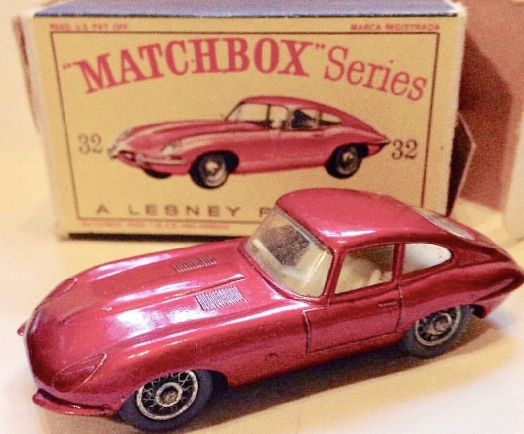 Jaguar car toys  Matchbox Jaguar XKE  Vintage toys u models  Pinterest