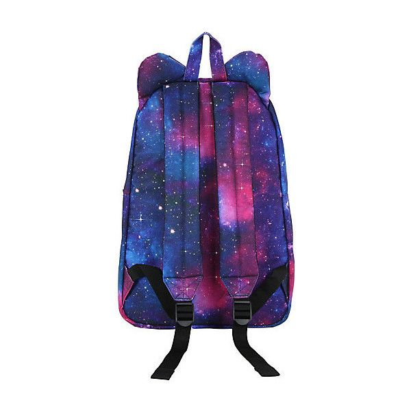 b31022d682 Sanrio Loungefly Hello Kitty Galaxy Canvas Backpack ( 40) ❤ liked ...