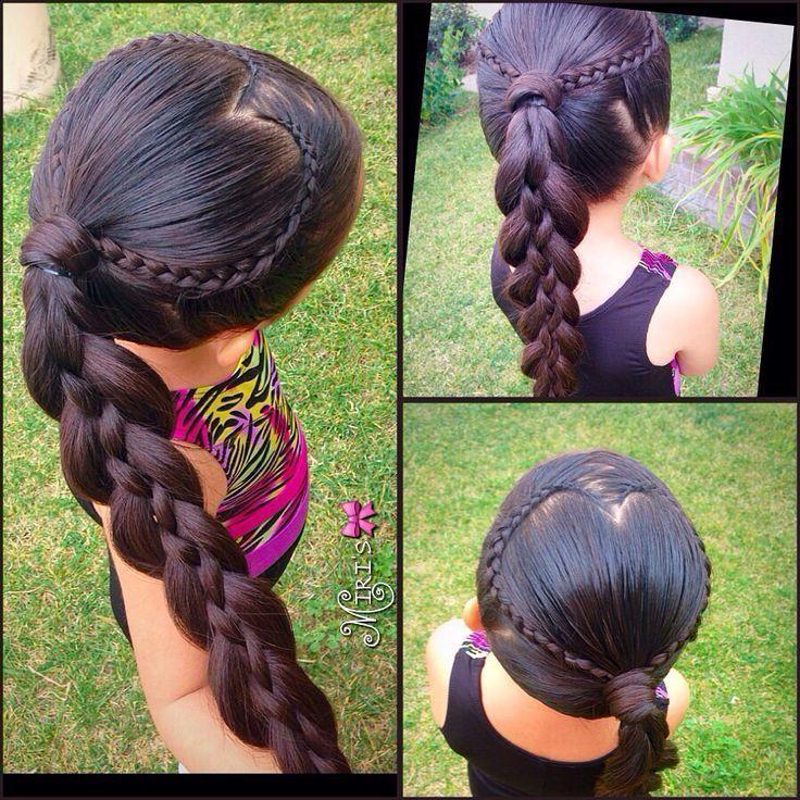 Photo of Hjärta hårstil til små tjejer – # for # hårstil # hjärta # små #tjejer,  #hårstil #Hjärta #sm…