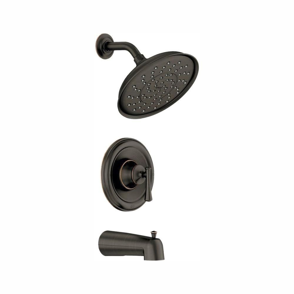 Moen Ashville Single Handle 1 Spray Tub And Shower Faucet With