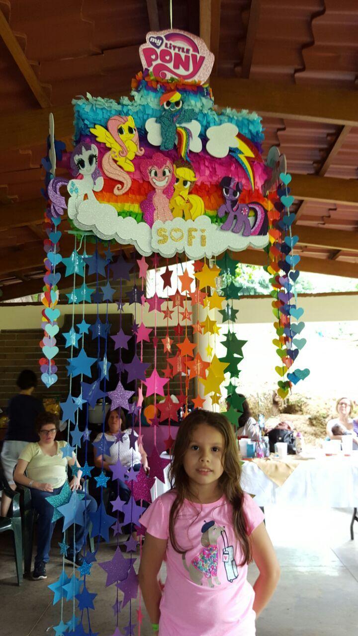 My Little Pony Pinata Diy Little Pony Birthday Party My Little