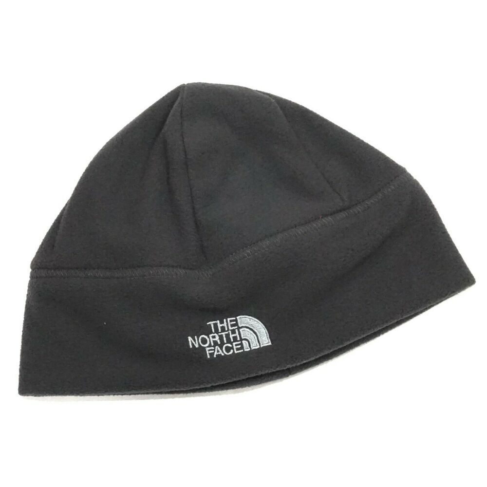 7b6d077c316 The North Face Gray Standard Reversible Fleece Beanie Hat Size L XL Unisex   TheNorthFace  Beanie