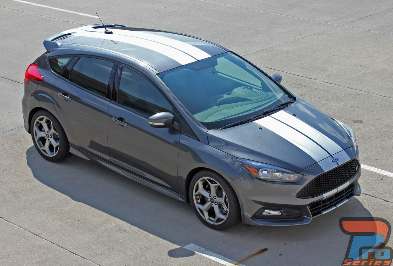 Ford Focus St Rally Stripes Target Focus Rally 2015 2017 2018 Rally Stripes Ford Focus Racing Stripes