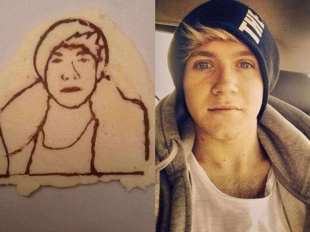 Niall made out of chocolate now he's edible!!