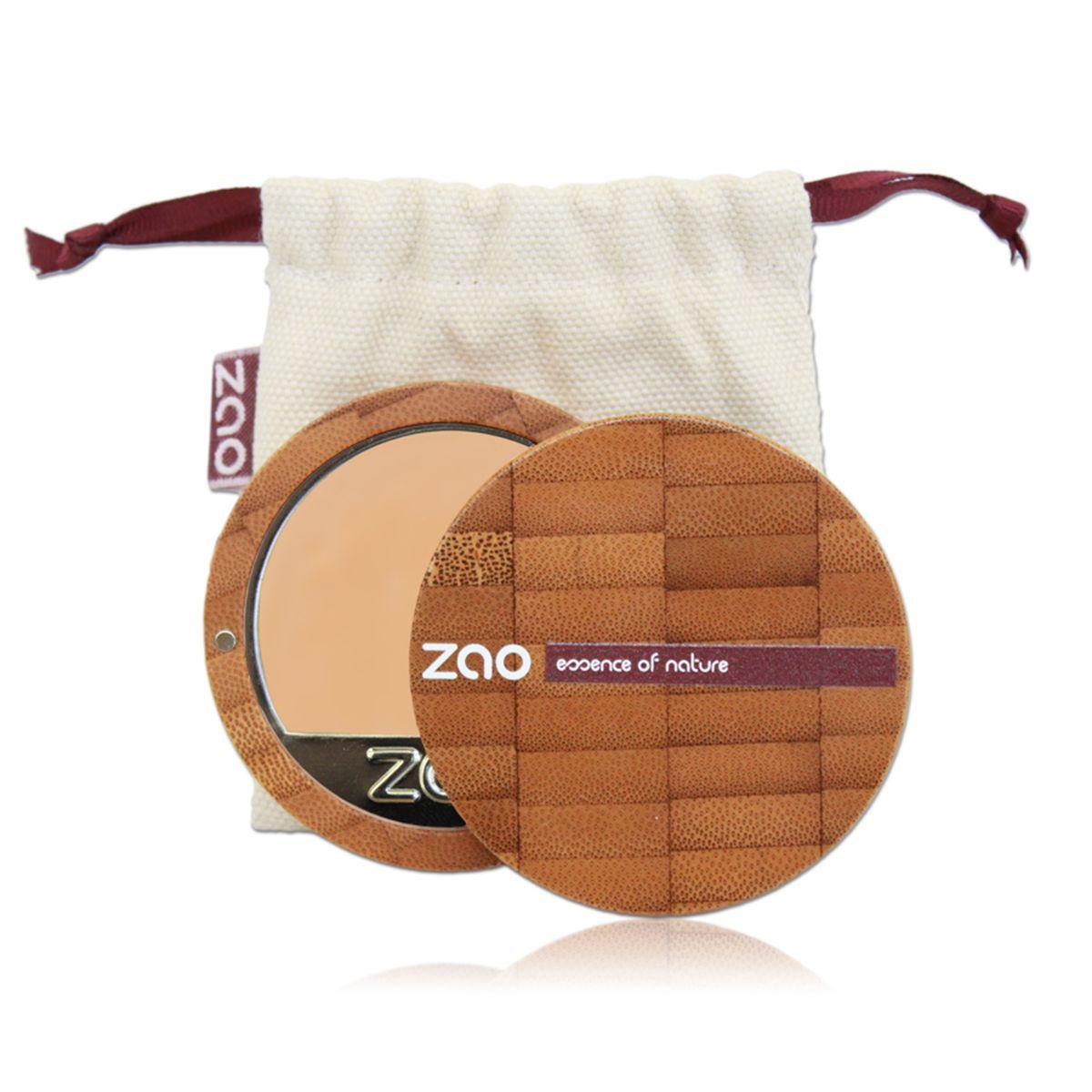 ZAO Compact Foundation Compact foundation, Organic