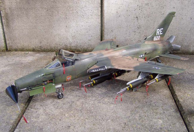 1 32 Trumpeter F 105d Thunderchief By Daniel Trumpeter Daniel Fighter Jets