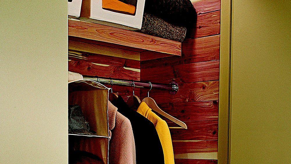 How to Line a Cedar Closet in 2020 Cedar closet