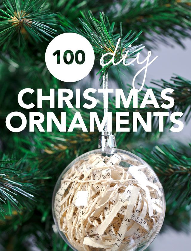 100 Most Unique Homemade Christmas Ornaments of 2018