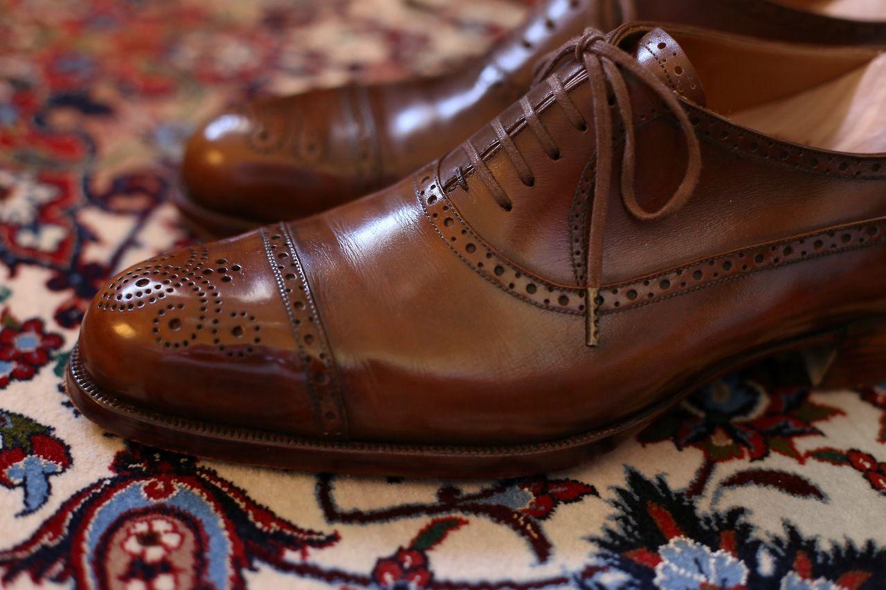 il Quadrifoglio Bespoke Balmoral Shoes #menshoes #mensoutfit