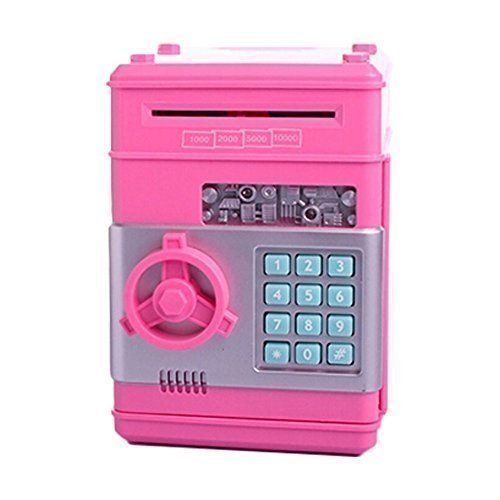 Ainypiggy-bank Code Electronic Money Bank Piggy Money Banks Coin Saving Banks ATM Safty Banks,pink ** MORE DETAILS @ http://www.morebabystuffs.com/store/ainypiggy-bank-code-electronic-money-bank-piggy-money-banks-coin-saving-banks-atm-safty-bankspink/?a=0239