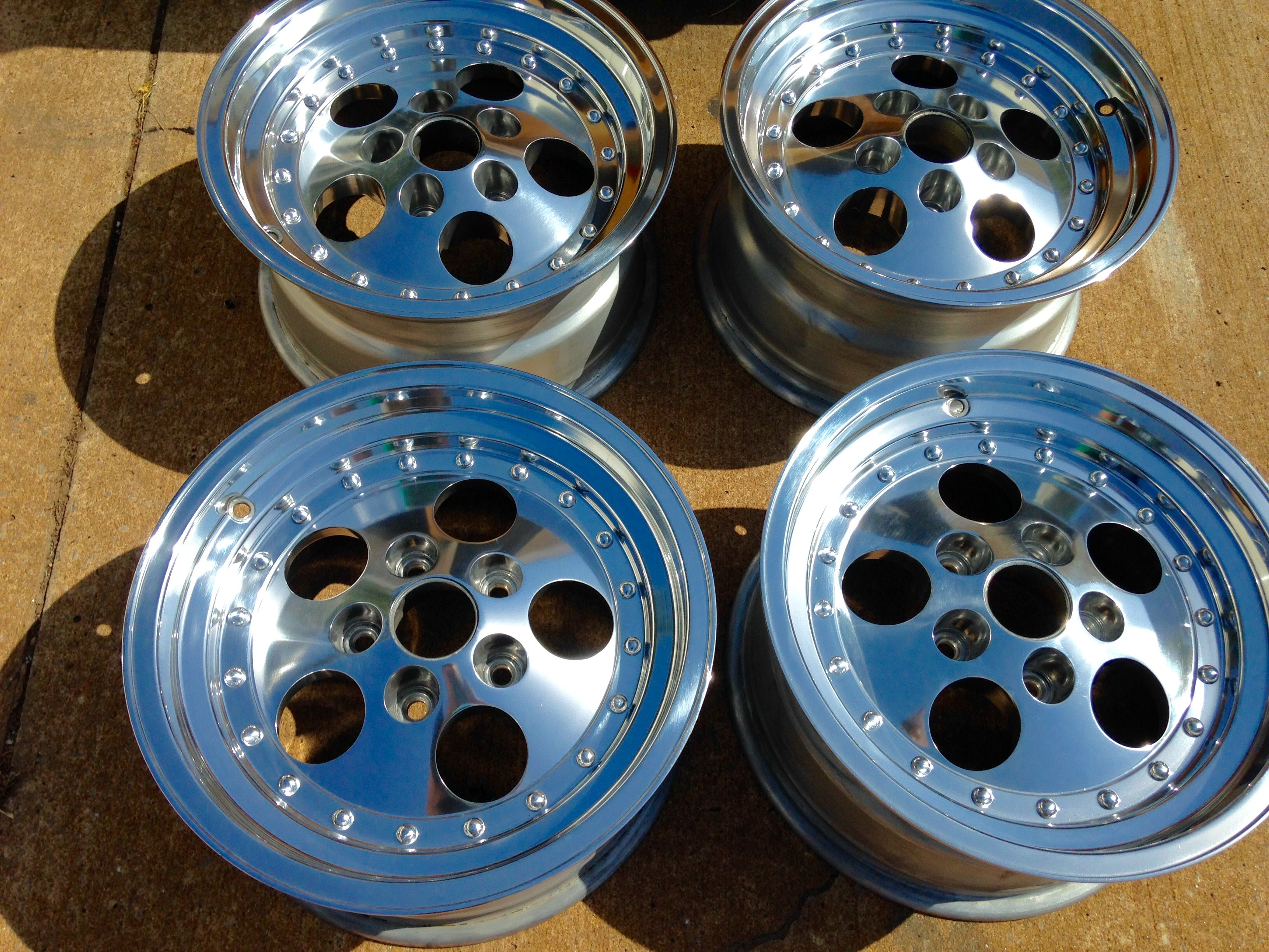After Wheel Polishing Buffing Centerline Wheels