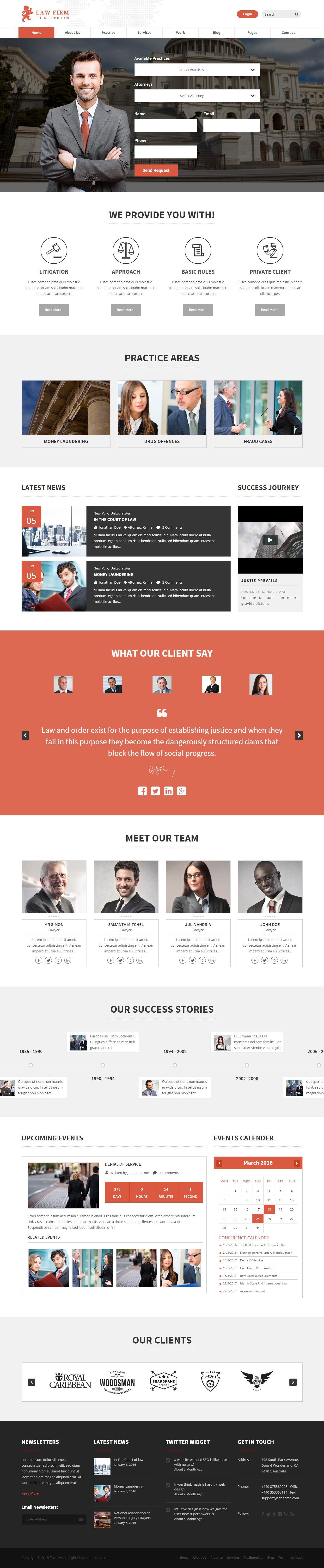 Law Firm And Lawyer Wordpress Theme Law Firm Website Design Inspiration Psd Templates