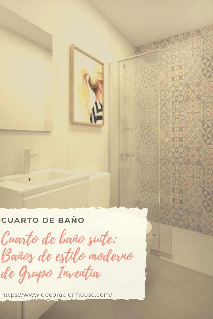 Cuarto De Baño Suite Baños De Estilo Moderno De Grupo